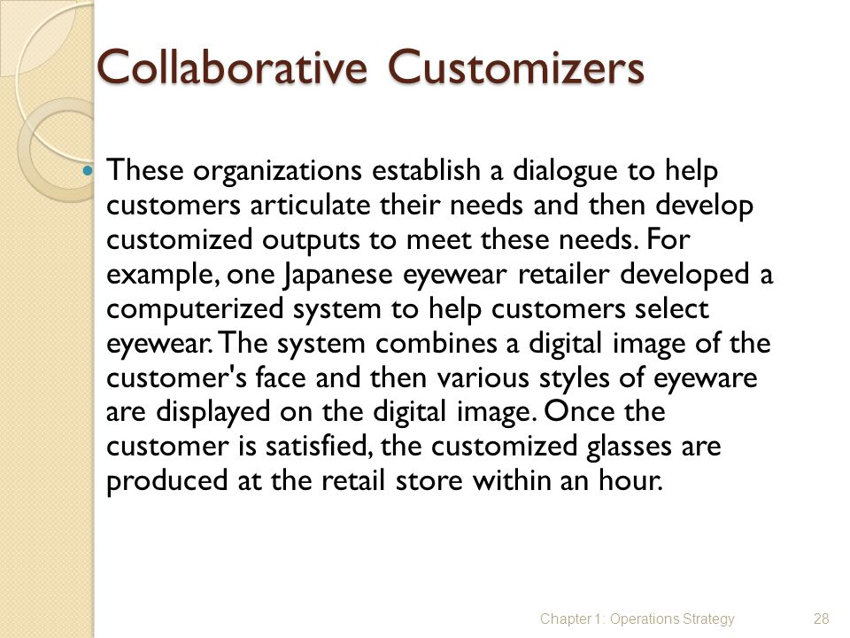 Collaborative Customizers