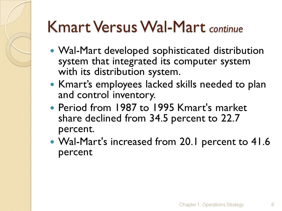 kmart marketing strategy Sears and discount brand kmart still have a considerable retail footprint, but the brand isn't investing in the future and plans to close  unsustainable strategy.