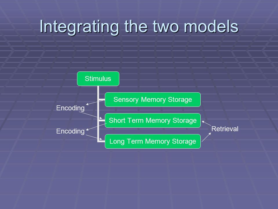 Integrating the two models