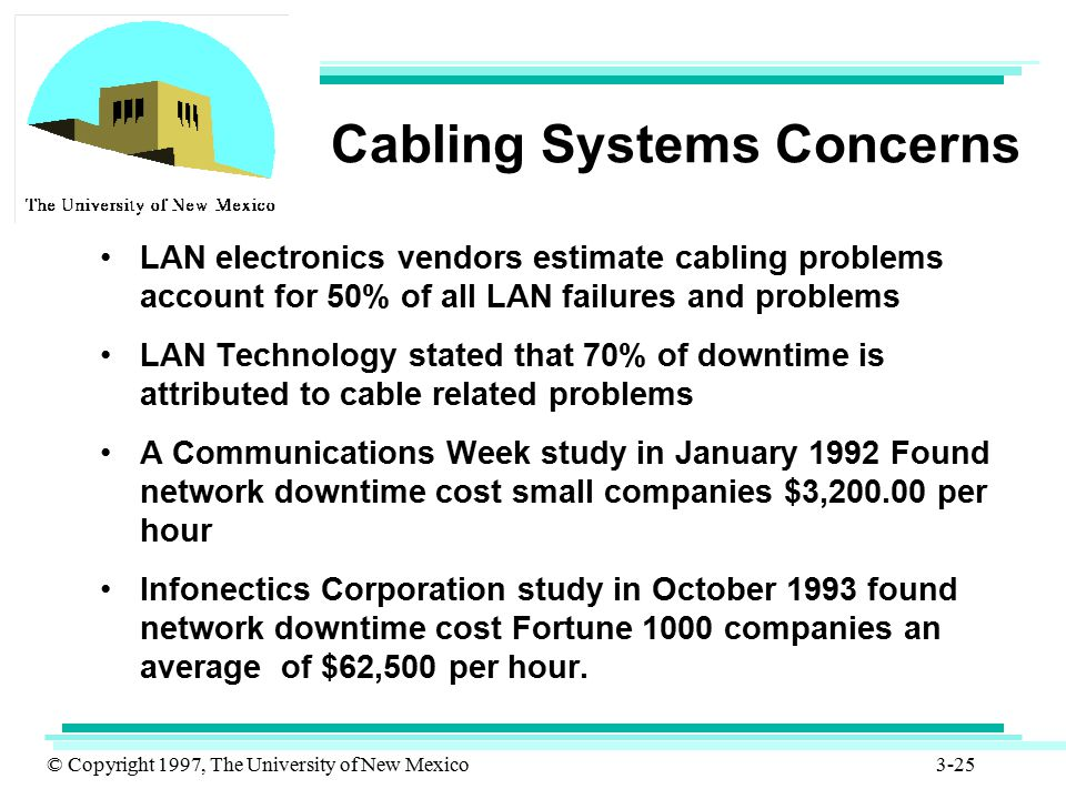 Cabling Systems Concerns