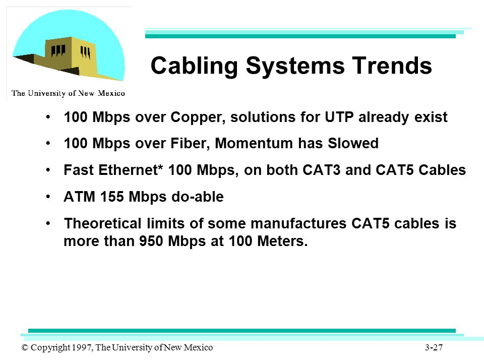 Cabling Systems Trends