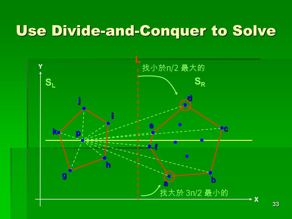 Use Divide-and-Conquer to Solve