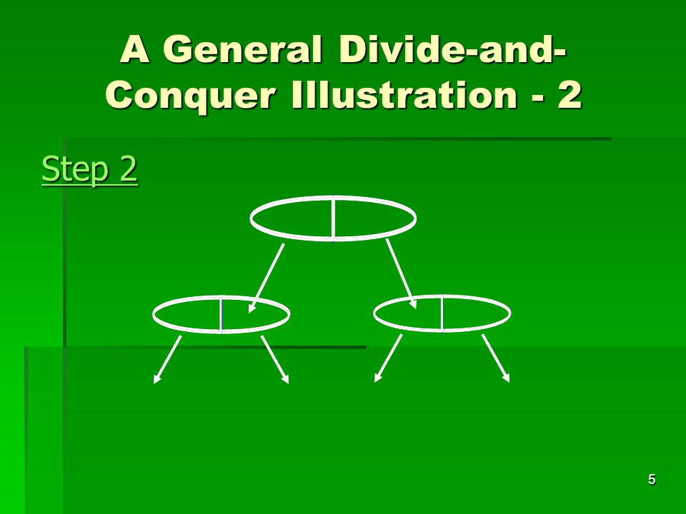 A General Divide-and-Conquer Illustration - 2