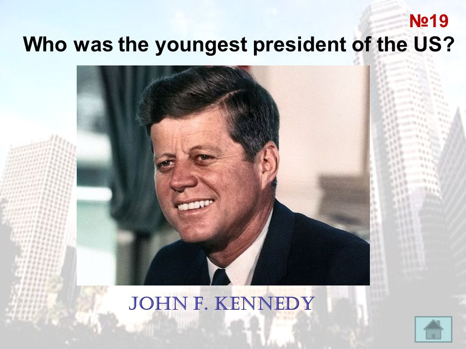Who was the youngest president of the US