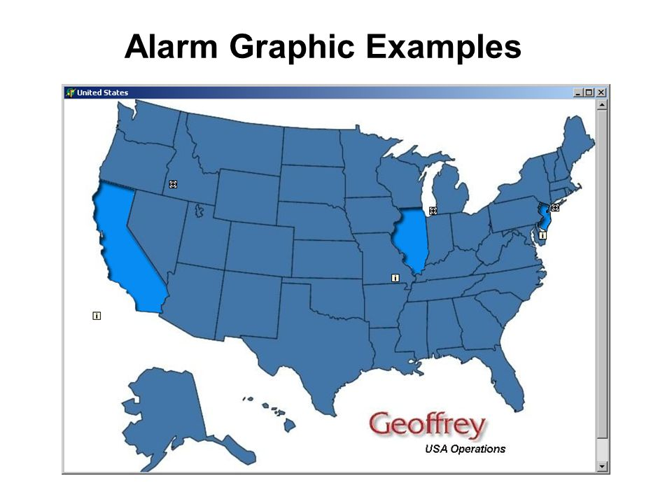 Alarm Graphic Examples