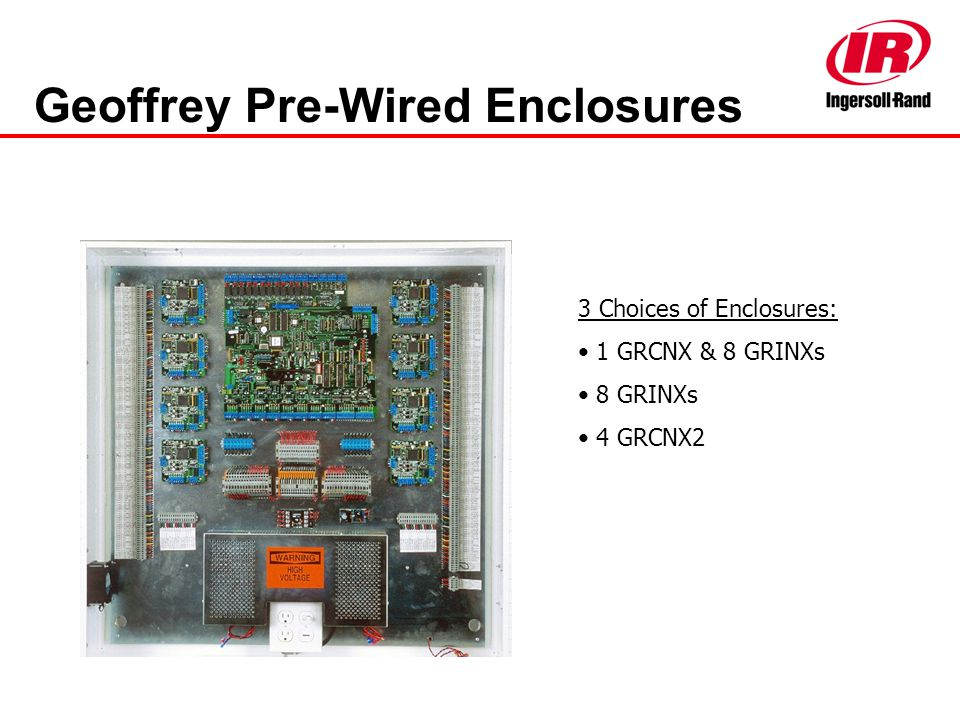 Geoffrey Pre-Wired Enclosures