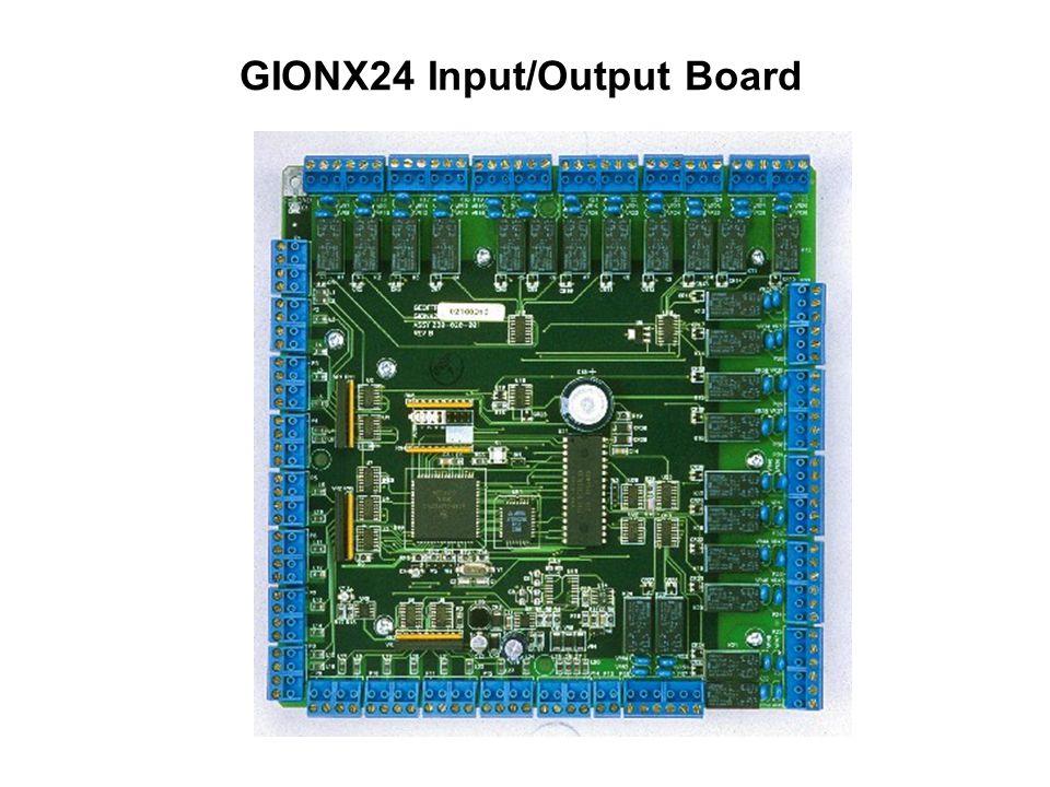 GIONX24 Input/Output Board