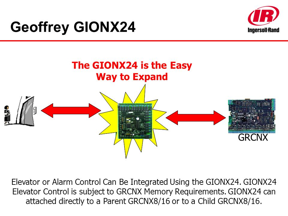 The GIONX24 is the Easy Way to Expand