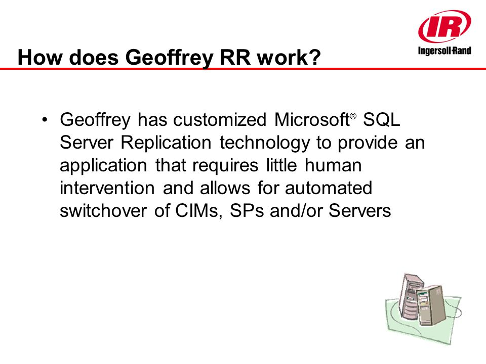 How does Geoffrey RR work