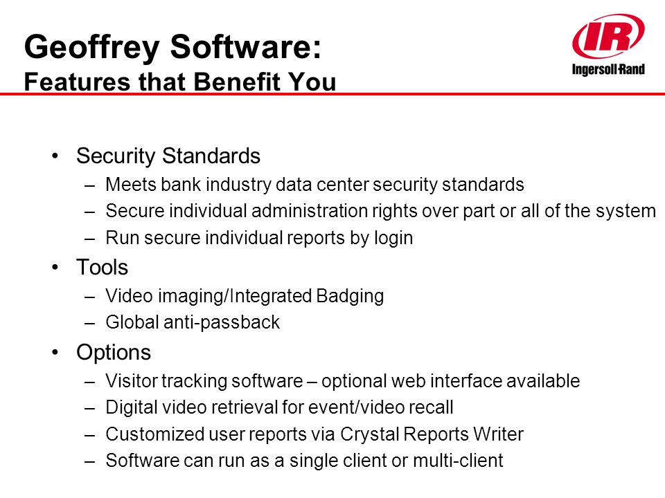 Geoffrey Software: Features that Benefit You