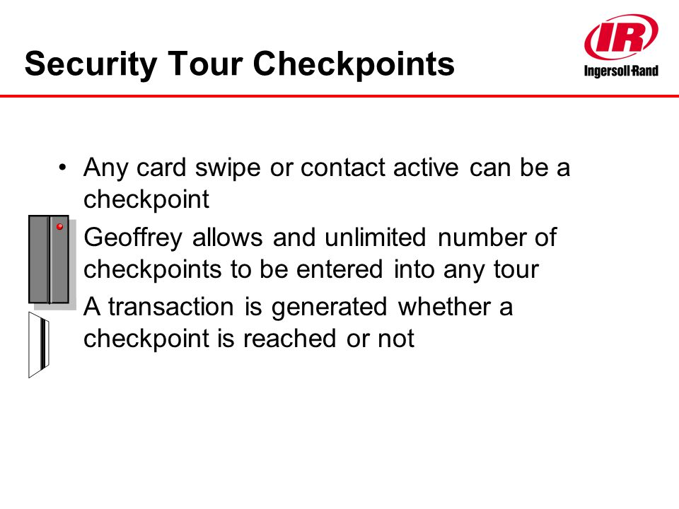 Security Tour Checkpoints
