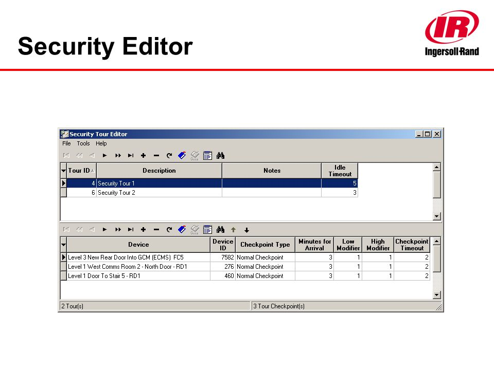 Security Editor