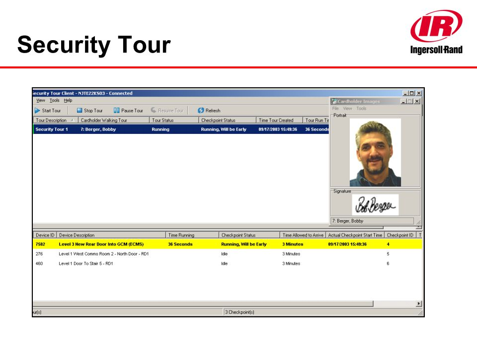 Security Tour