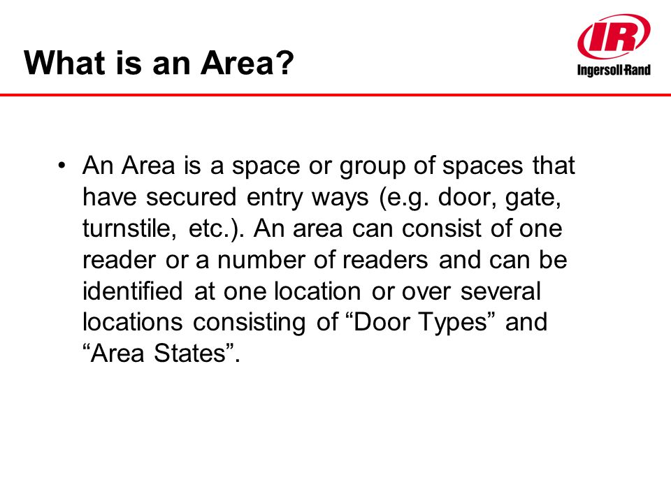 What is an Area