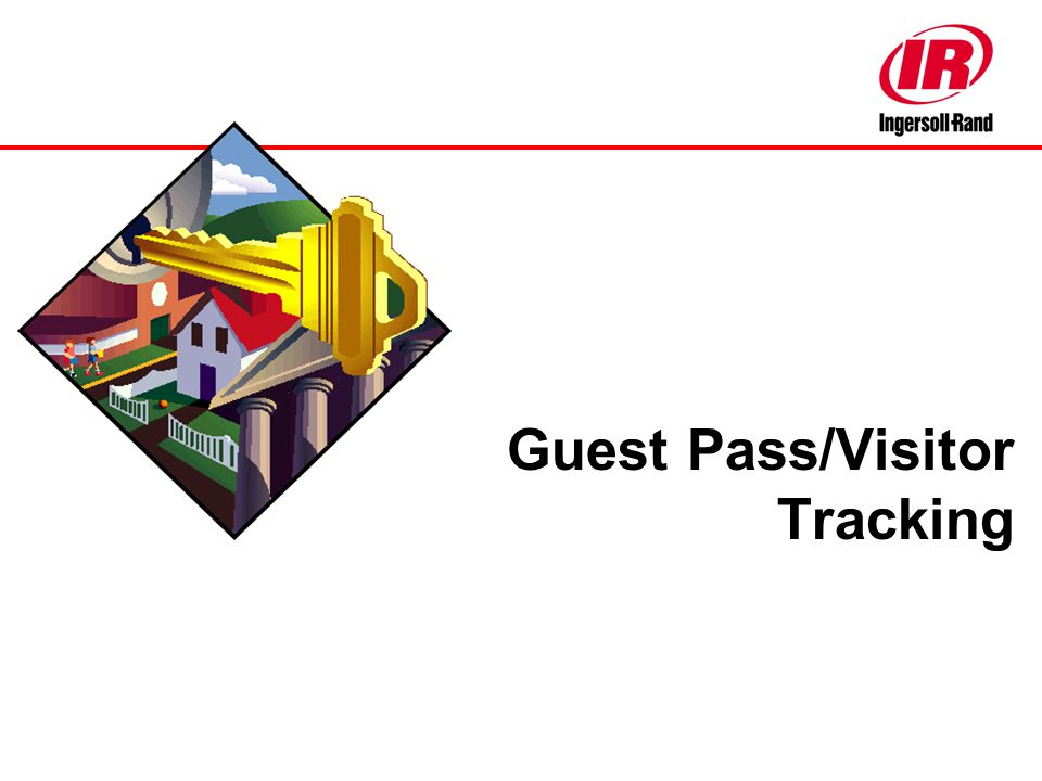 Guest Pass/Visitor Tracking