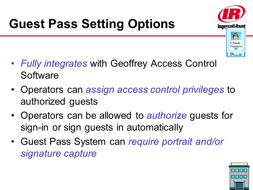 Guest Pass Setting Options