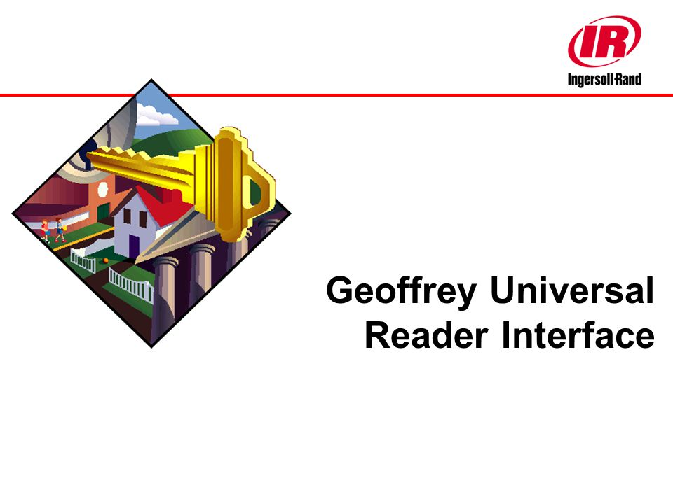 Geoffrey Universal Reader Interface