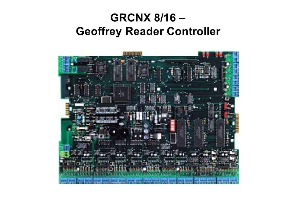 GRCNX 8/16 – Geoffrey Reader Controller