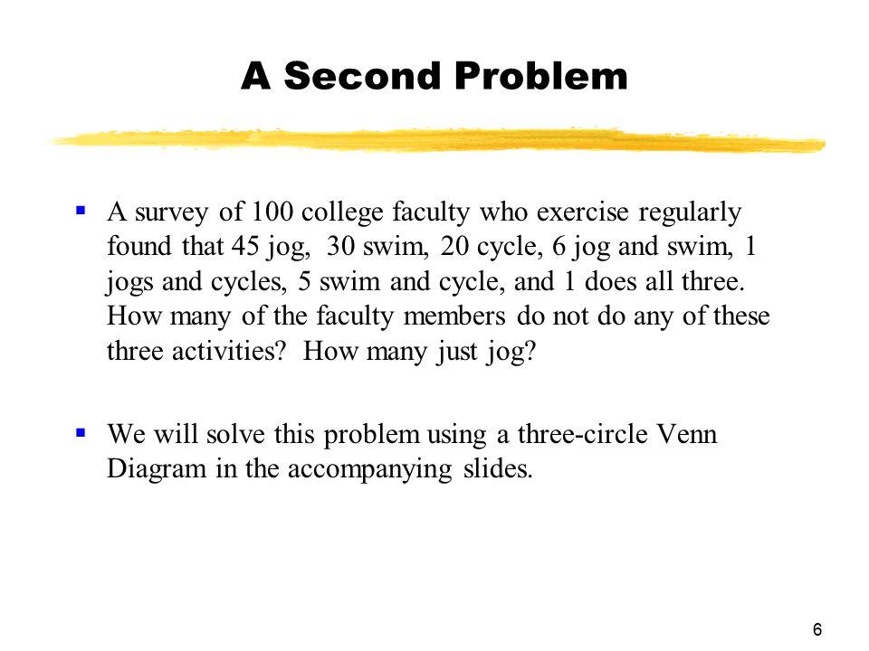 A Second Problem