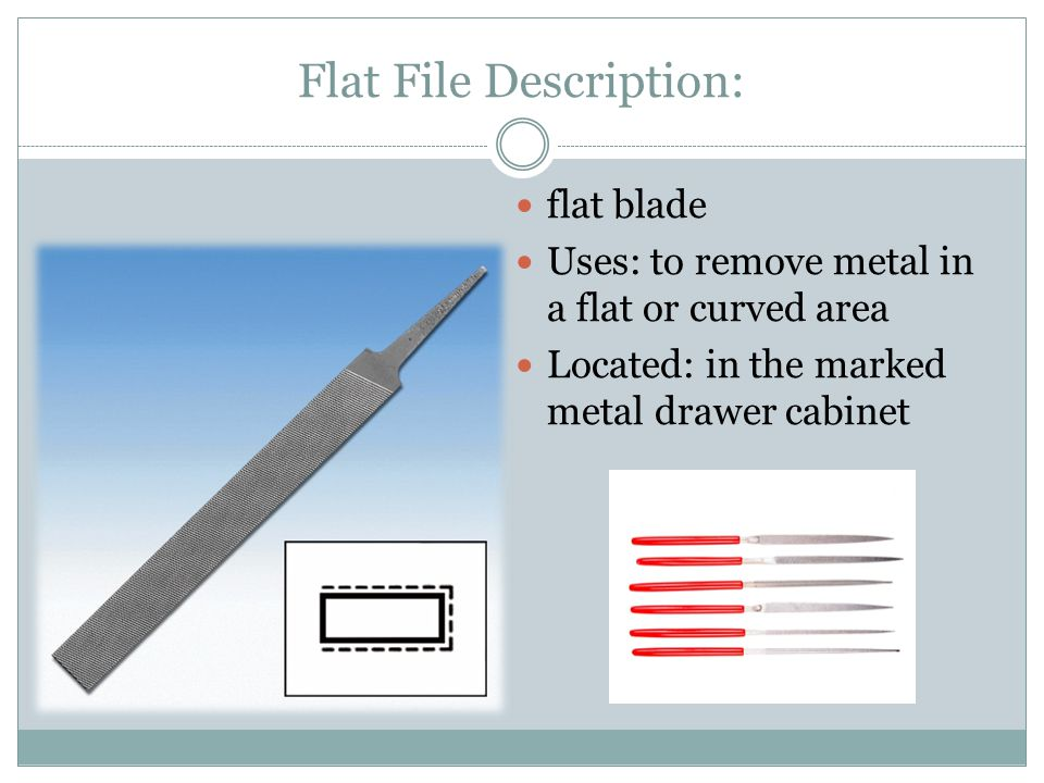 Flat File Description: