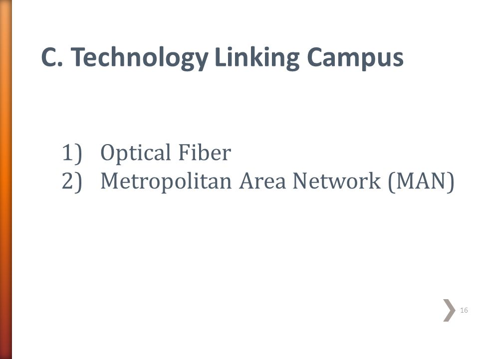 C. Technology Linking Campus