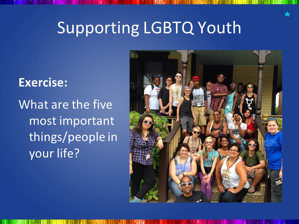 Supporting LGBTQ Youth