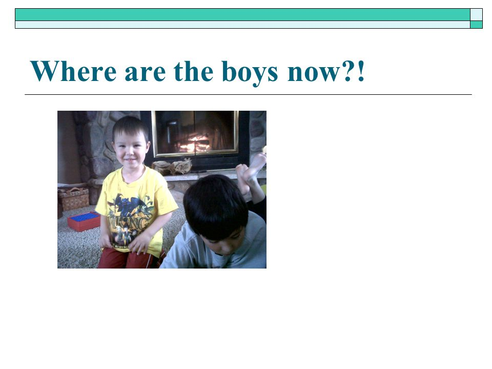 Where are the boys now !