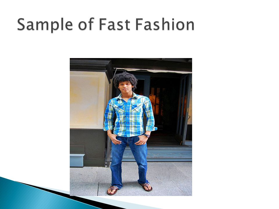 Sample of Fast Fashion