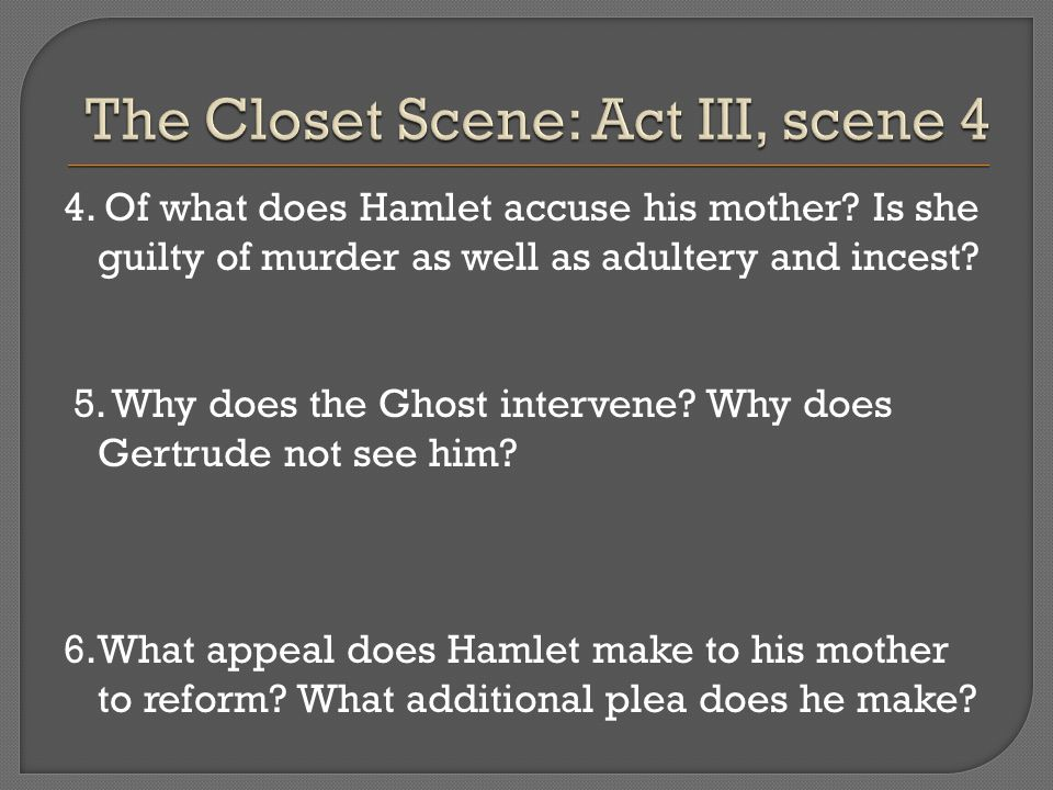Drama Analysis of Hamlet by Shakespeare