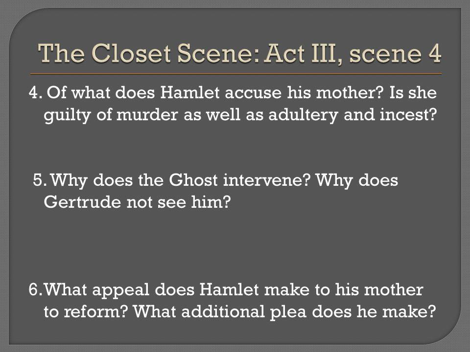 The Closet Scene: Act III, scene 4