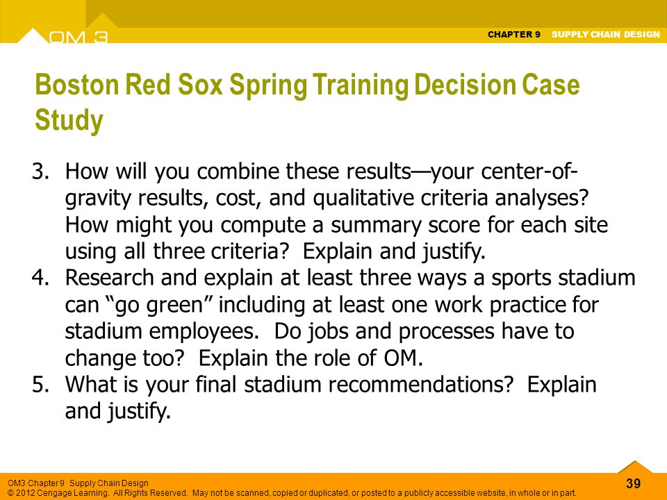 boston red sox spring training decision case study Red sox: blake swihart's fast start gives boston a tough decision  more from  analysis  catchers are a premium, swihart is making a case for himself  for  all updates on the boston red sox during spring training, stay with.