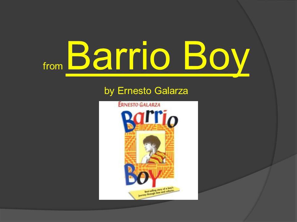 from Barrio Boy by Ernesto Galarza