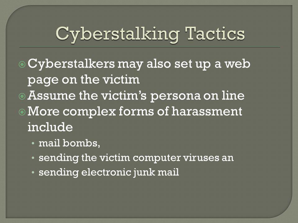 Cyberstalking Tactics