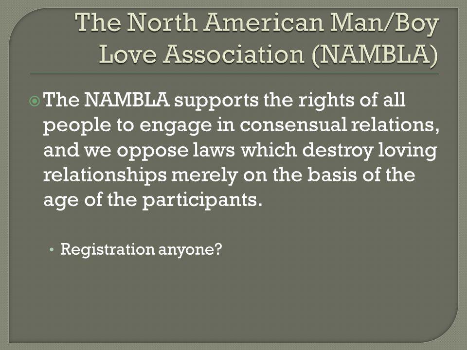The North American Man/Boy Love Association (NAMBLA)