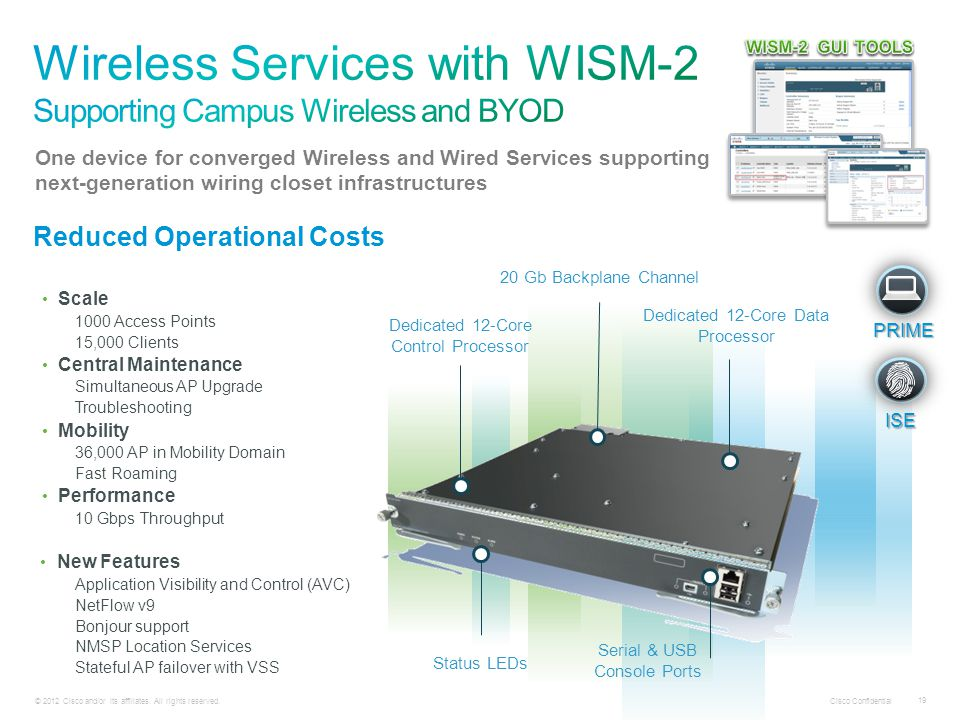 Wireless Services with WISM-2 Supporting Campus Wireless and BYOD