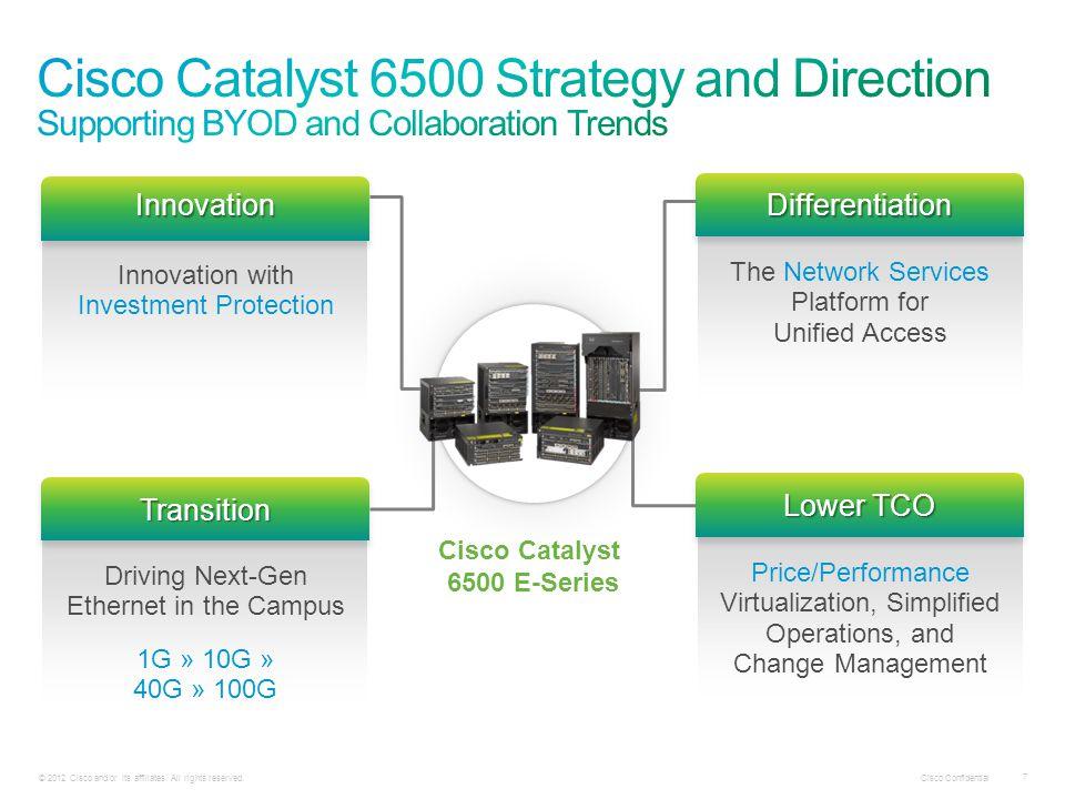 Cisco Catalyst 6500 E-Series