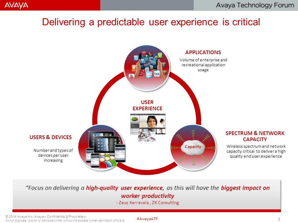 Delivering a predictable user experience is critical