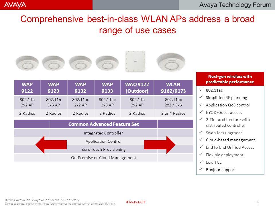 Next-gen wireless with predictable performance