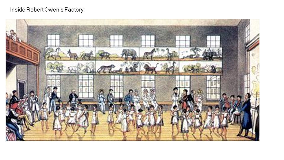 Inside Robert Owen's Factory