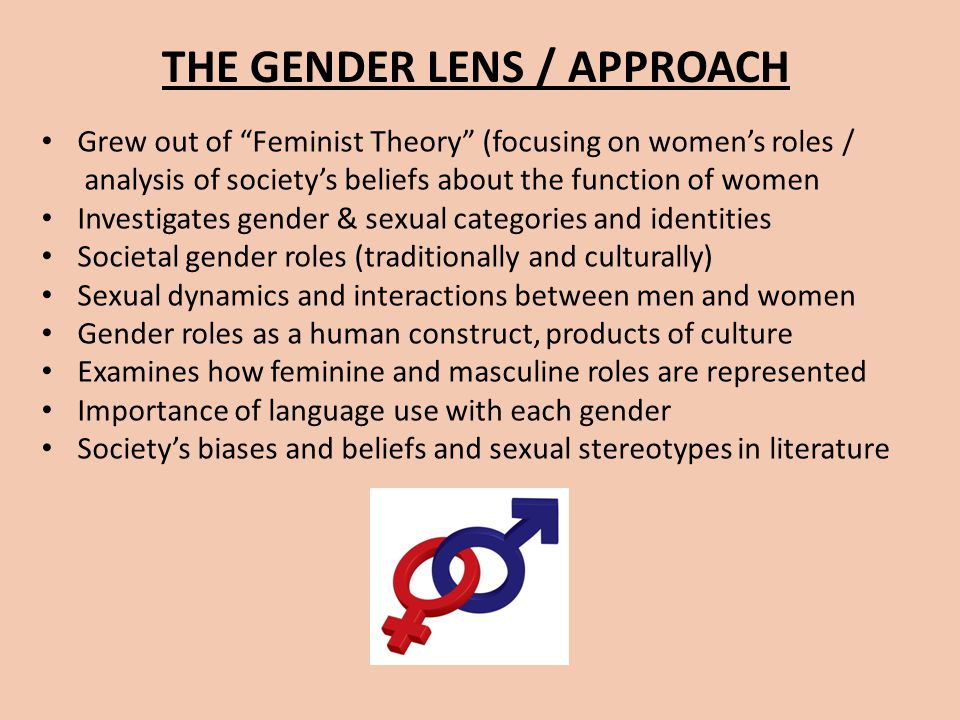 THE GENDER LENS / APPROACH