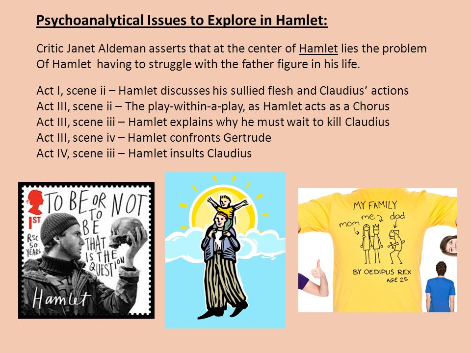 Psychoanalytical Issues to Explore in Hamlet: