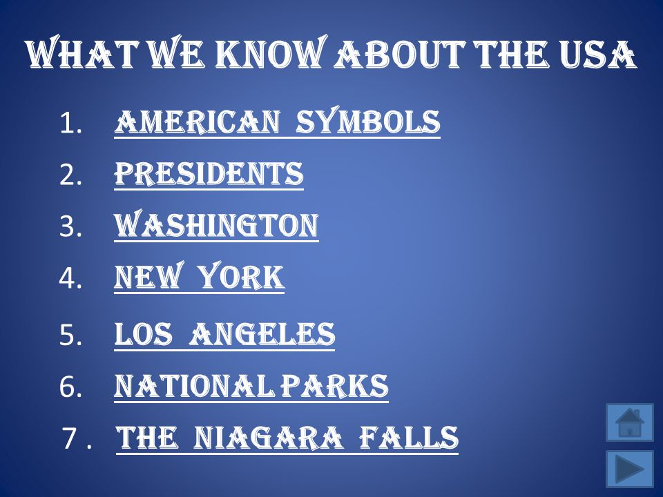 What we know about the usa