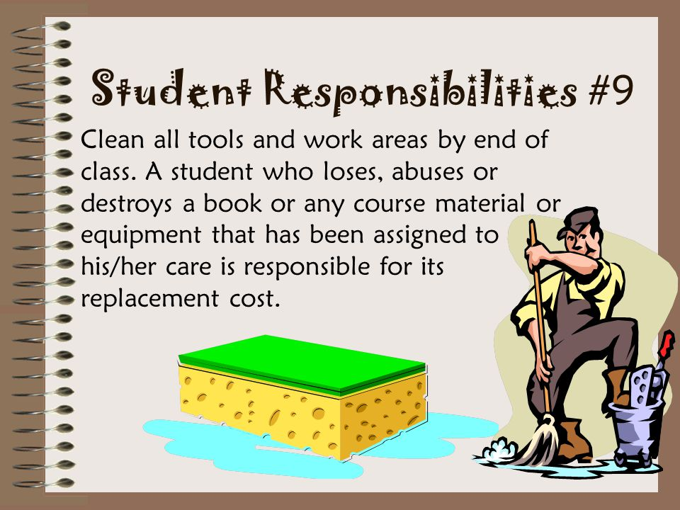 Student Responsibilities #9