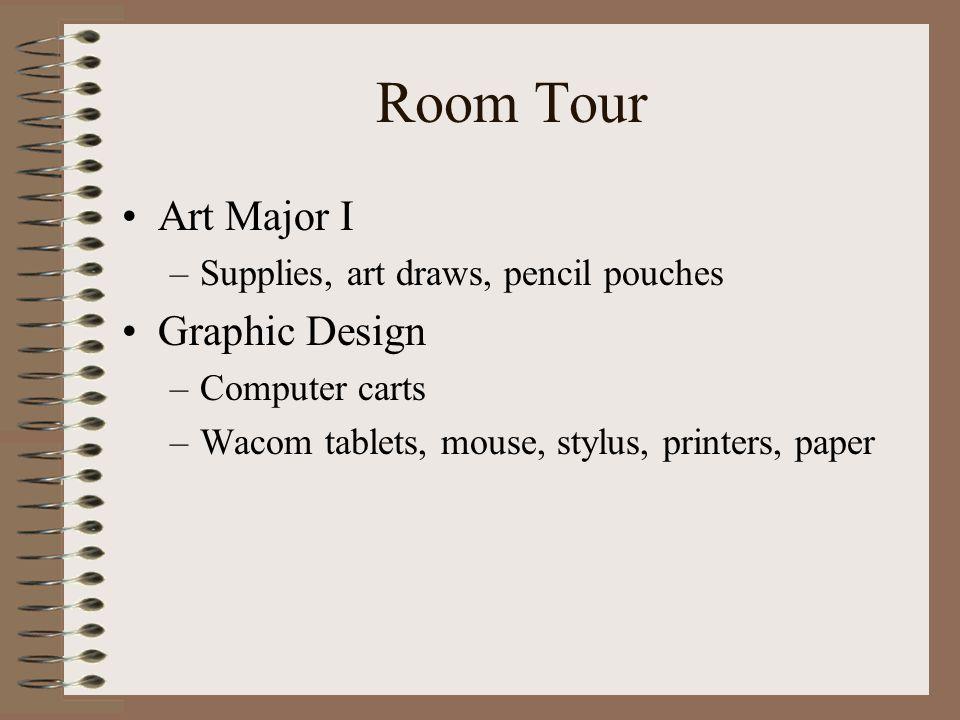 Room Tour Art Major I Graphic Design