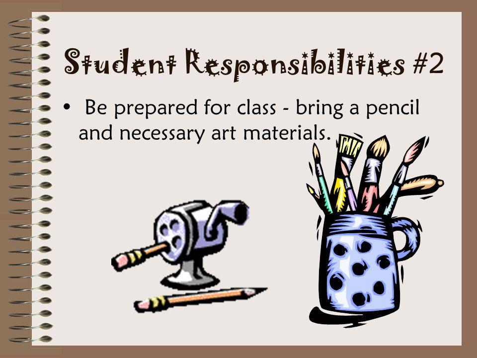 Student Responsibilities #2