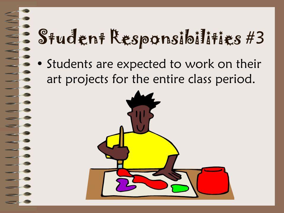 Student Responsibilities #3