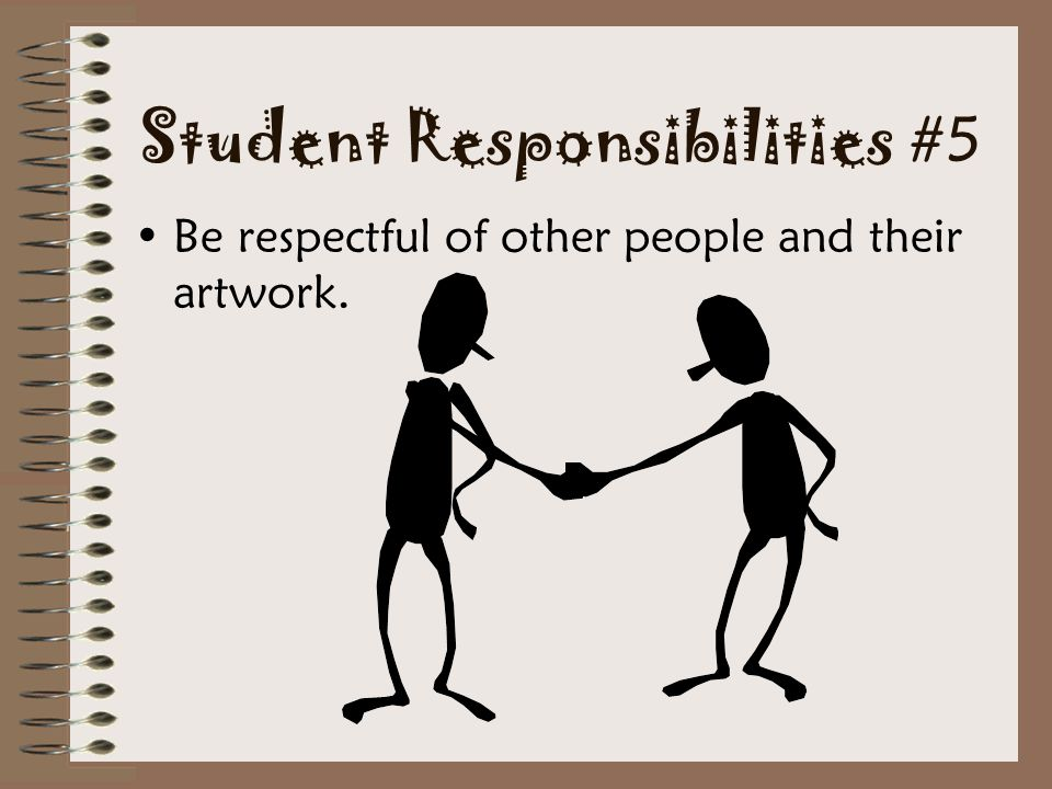 Student Responsibilities #5