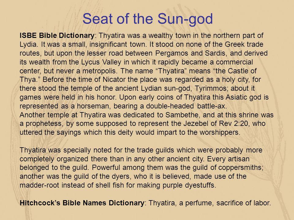Seat of the Sun-god