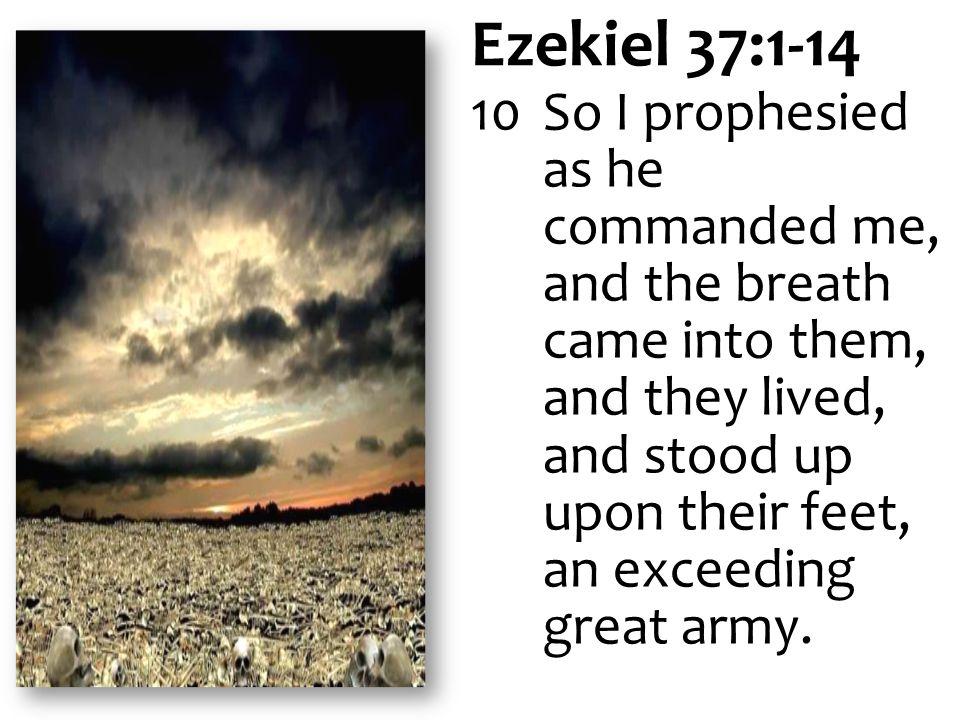Ezekiel 37:1-14