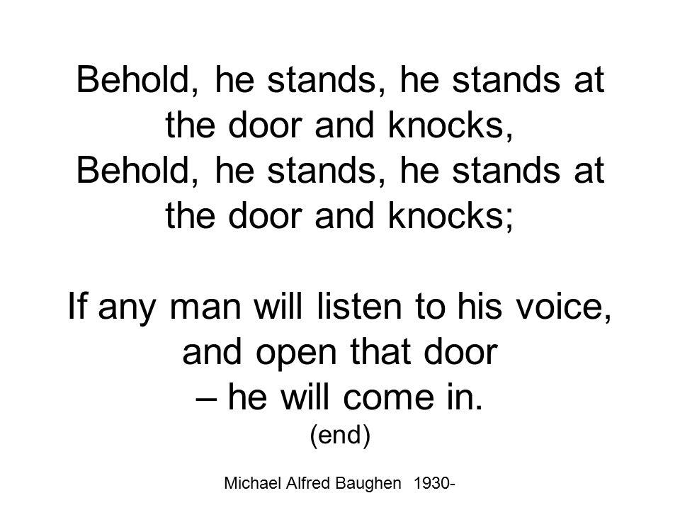 Michael Alfred Baughen 1930-